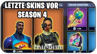 🆕 *NEW* THE LAST SKINS BEFORE SEASON 4 | Fortnite Skins German German