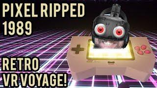 RETRO VR VOYAGE! UKO ENTERS THE GAME! -- Let
