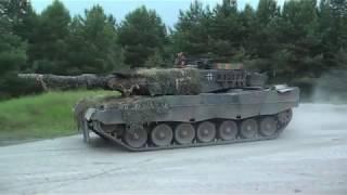 Leopard 2 Nachtschießen Schießbahn 8b TrÜbPl Bergen 4./PzBtl33 Panzer MBT Night Firing LFX Manöver