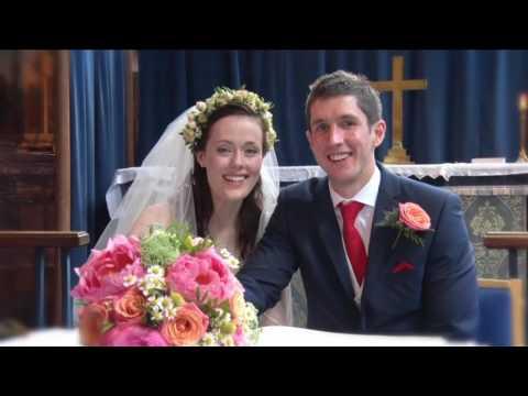 Alice & Sam wedding video highlights | Bunbury Church & Tower Hill Barns
