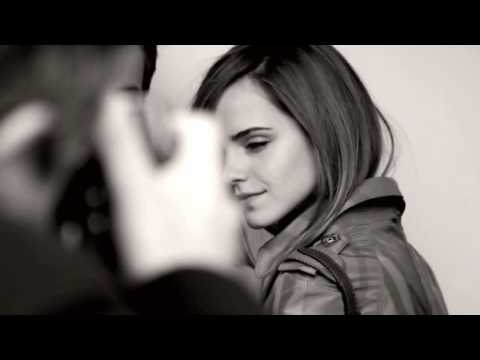 Emma Watson - Burberry SS10 Campaign Behind the Scenes