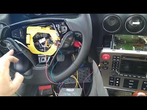 Alfa Romeo 166 ставим обманку вместо кассетной деки !!!