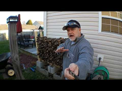 DIY Cheap Firewood Rack 4' 8' 16' Easy NO TOOLS REQUIRED