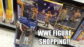 WWE ACTION INSIDER: ToysRus Elite 28! New EXCLUSIVE Wrestling Figure Ring! Mattel toy store aisle!