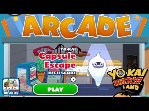Yo-Kai Watch Land - Arcade Mini-Game: Capsule Escape (iOS/iPad Gameplay)