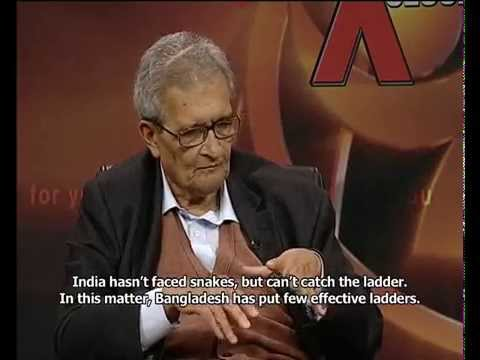 Nobel Laureate Amartya Sen visits Channel i