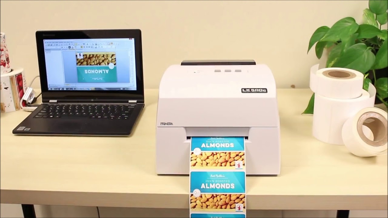 PRIMERA LX500e colour label roll printer KTEC GROUP UK