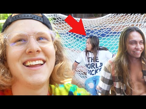 WE BROKE THE HAMMOCK A Day With Landon Cube