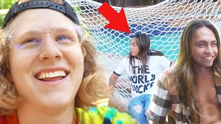 WE BROKE THE HAMMOCK! (A Day With Landon Cube)