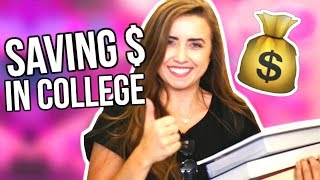 8 LIFE HACKS for SAVING MONEY in COLLEGE! | Back to School 2016