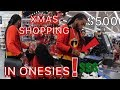 WALKING THROUGH WALMART WITH 10K CASH!! IN OUR INCREDIBLES ONESIES!!