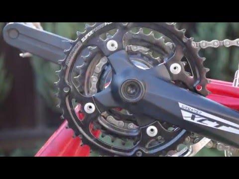 Замена каретки велосипеда под квадрат