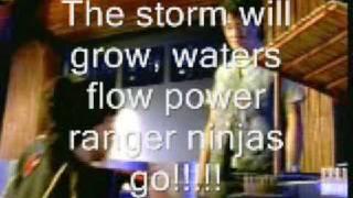 Power Rangers Ninja Storm w/ ENGLISH subtitle
