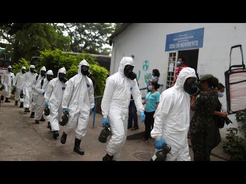 Brazil suffers record daily Covid-19 death toll, Trump considers travel ban