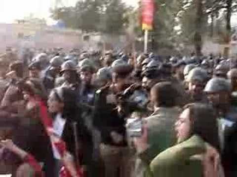 Aabpara Student Protest, Islamabad, Pakistan