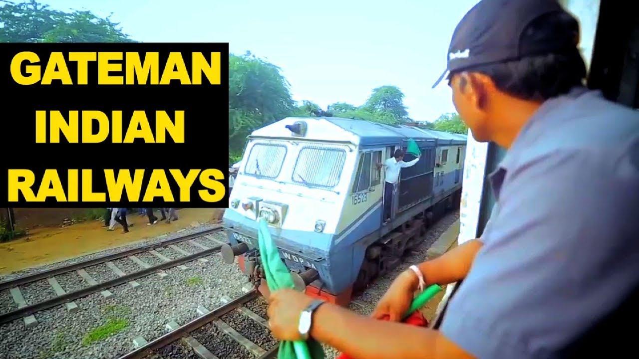 Download Gateman of Indian Railways Gateman in Trains Gangman