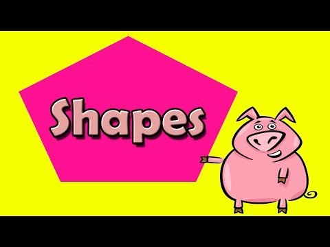 Shapes Song - Shapes Activity Song - Children's Learn Shapes - Kids Songs by The Learning Station