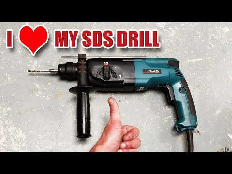 Why I Love My MAKITA HR2450 SDS DRILL!