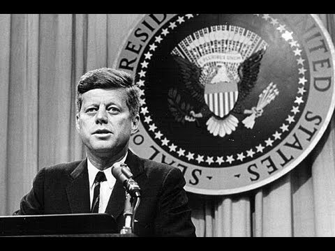 The President Who Told The Truth - John F. Kennedy - Interview Speech - US President