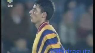 Trica, in Spania - Romania U21 friendly, 18 nov 1997