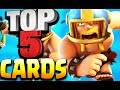Top 5 Best Cards for TOUCHDOWN MODE in Clash Royale You Should Choose!