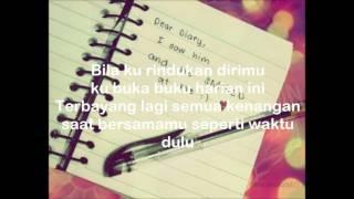 Adista - Buku Harian (Lyrics Video)