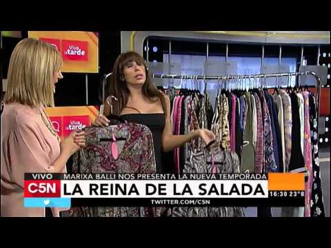 C5N - Viva la Tarde: Marixa Balli, la reina de La Salada