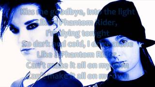 Tokio Hotel - Phantom Rider lyrics [HD]