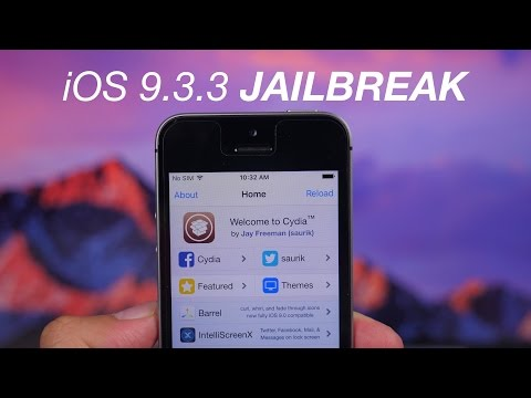 How To Jailbreak iOS 9.3.3 With Pangu / PP / Cydia Impactor On Windows Or Mac