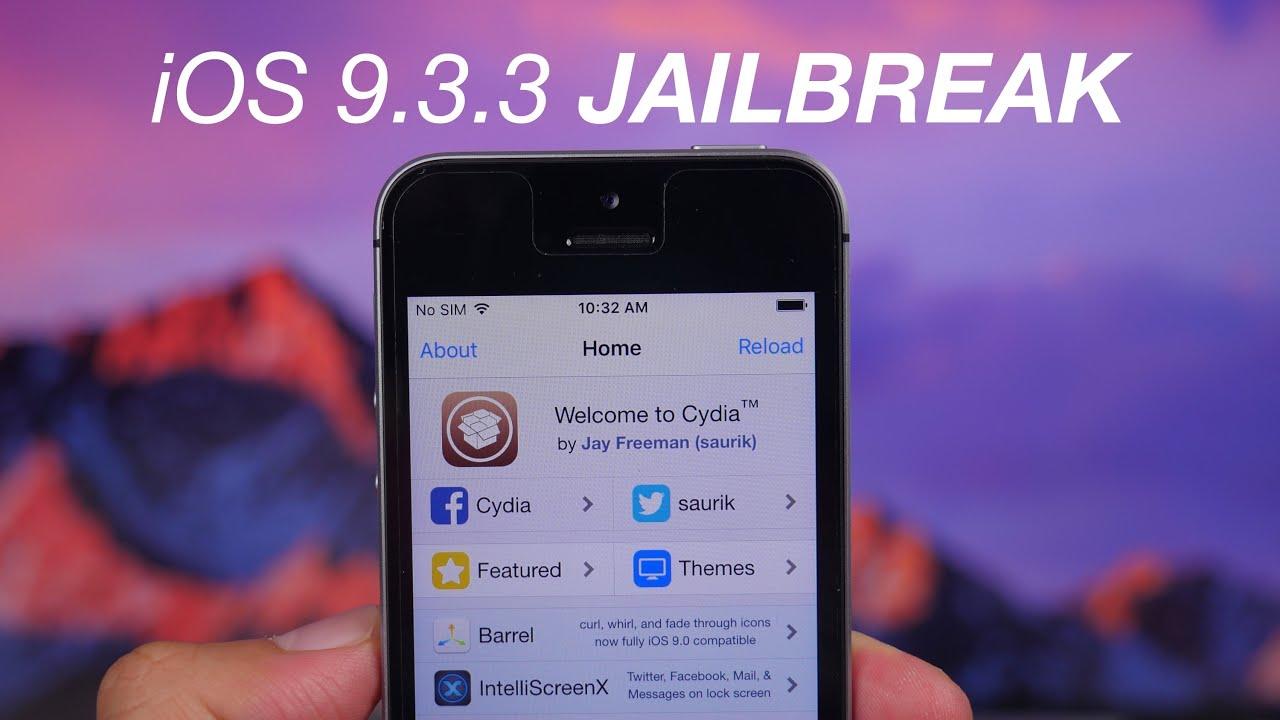 Taig Jailbreak to Cydia Download iOS 9.3.2