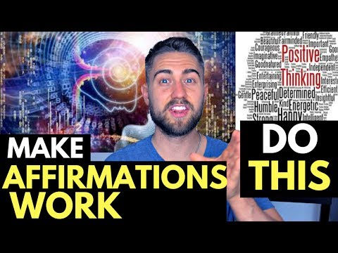 Making Affirmations ACTUALLY Work: Powerful Process for Influencing Subconscious Mind