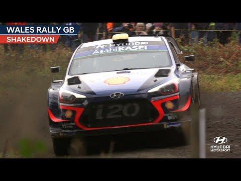 Wales Rally GB Shakedown  - Hyundai Motorsport 2018
