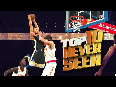 10 CRAZY Plays Youve NEVER SEEN BEFORE - NBA 2K18 Top Plays Of The Week!