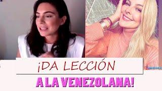 Ana Brenda Contreras da lección a Marjorie de Sousa YouTube Videos