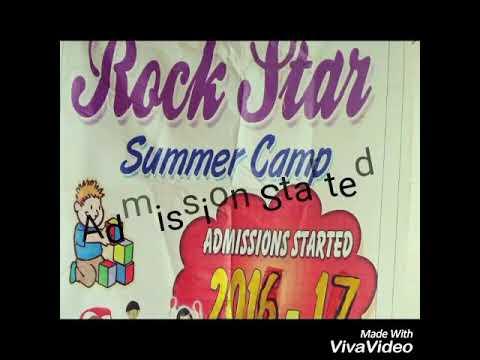 Rockstar summer camp