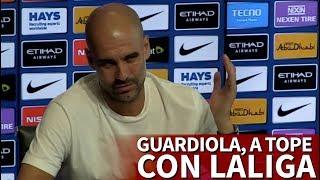 Guardiola 'convence' al barça de que ganar la liga es más importante que la champions | diario as