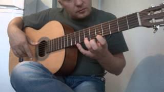 Уроки гитары.К Элизе.3 часть