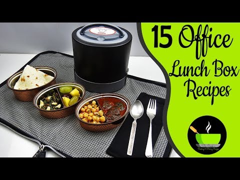 15 Office Lunch Box Recipes Indian | Husband Tiffin Recipes | Lunch Box Ideas |  Lunch Box Recipes