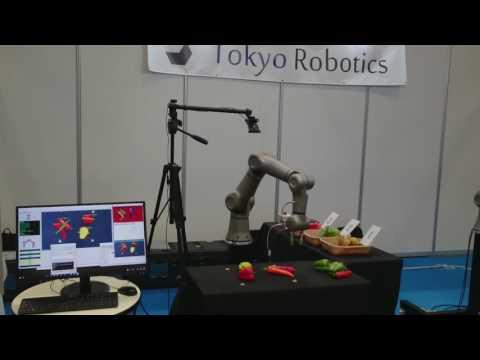 Tokyo Robotics: Torobo Arm demo at Service Robot Trade Show 2017 held in Osaka