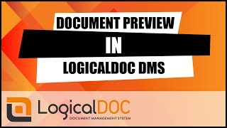 Document Preview in LogicalDOC DMS