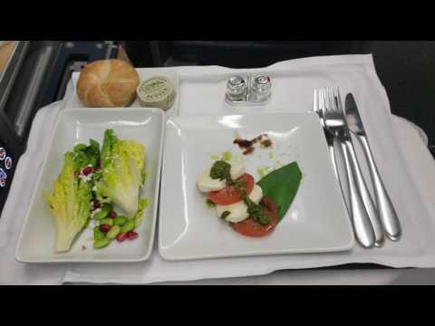 American Airlines, Business Class, LHR-PHL, A330 - Unedited Footage