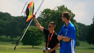 EXTREME 3D RC HELICOPTOR FLYING - 18 YR OLD DUNKAN BOSSION AT WESTON PARK MODEL AIRCRAFT SHOW - 2014
