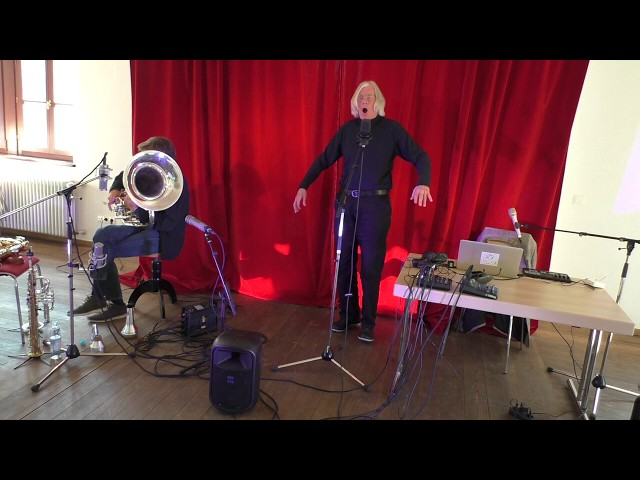 Udo Schindler und Jaap Blonk in Herrsching - Improvisation 8