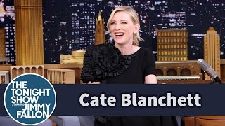 Cate Blanchett Gets to Know Jimmy by Sharing a Mint thumbnail