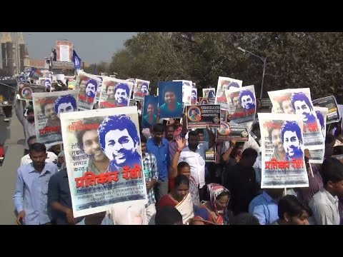 Massive Rally in Mumbai - Justice for Rohith Vemula