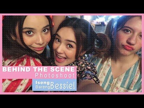 Beby Vlog #58 -BEHIND THE SCENE PHOTOSHOOT ISENG BARENG BESSIE!!👭💜💕
