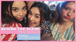 Beby Vlog #58 -BEHIND THE SCENE PHOTOSHOOT ISENG BARENG BESSIE!!👭💜💕