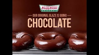 Krispy Kreme Original Glaze Goes Chocolate thumbnail