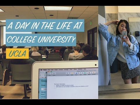 A DAY IN THE LIFE OF A COLLEGE STUDENT (UCLA)