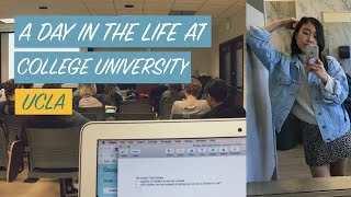 A DAY IN THE LIFE OF A COLLEGE STUDENT (UCLA) thumbnail